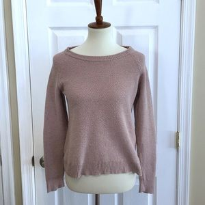 Madewell Province Cross-Back Pullover Sweater